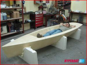 Wyrób łodzi bez formy