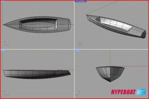 Wizualizacja projektu wprogramie Rhinoceros 3D