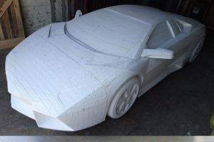 Styropianowe Lamborghini Reventon