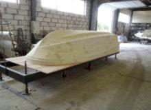 Kopyto łodzi motorowej