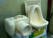 Instalacja rzeźba pianka poliuretanowa