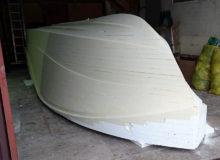 Model dobudowy formy kadłuba