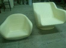 Prototyp fotel fryzjerski