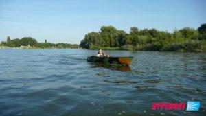 Powrót ze spływu we Wrocławiu