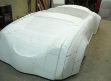 Styropianowe Porsche 356 podbudowę formy.