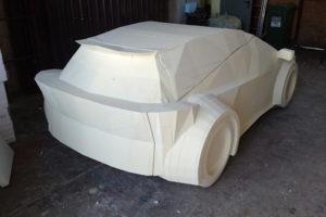 Rzeźba samochodu