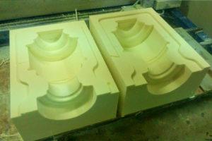 Forma do odlewania betony - styrodur