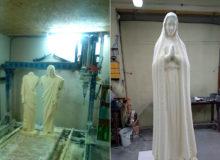 Jezus iMaryja zpianki poliuretanowej
