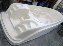 Budowa formy łodzi