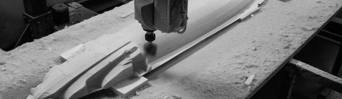 Frezowanie CNC styroduru
