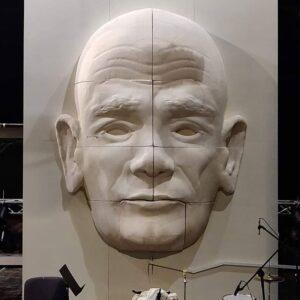 Duża głowa