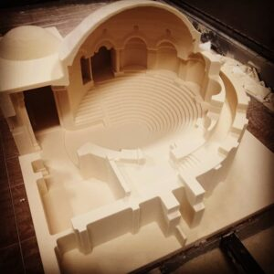 Makieta amfiteatru