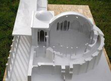 Makieta amfiteatru Rzymskiego